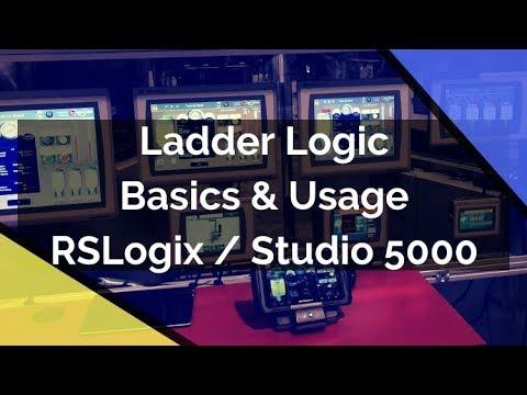 Ladder Logic Basics | Programming Ladder Logic Diagrams Studio 5000 for  Allen Bradley PLC Tutorial