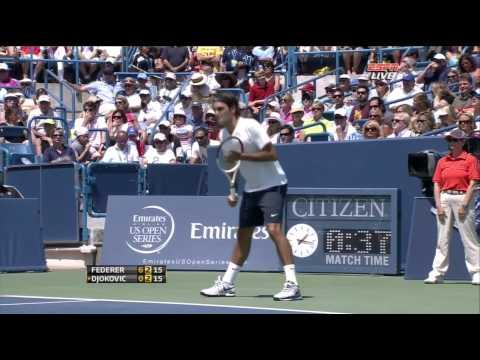ATP 2012 Cincinnati F Federer vs Djokovic ENG