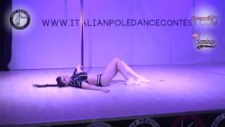 Cristina Olson italian pole dance contest 2017 - 15 APRILE
