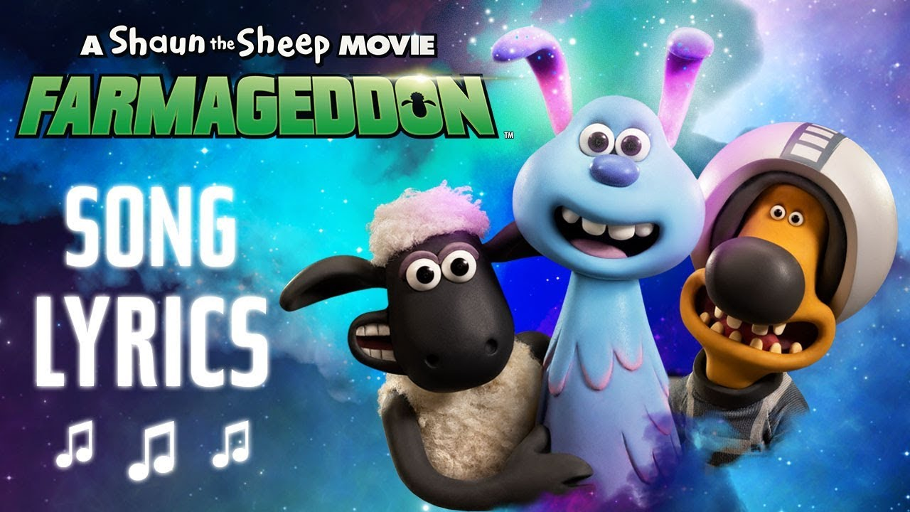 'LAZY' The Vaccines and Kylie Minogue Lyric Video! Shaun The Sheep Movie: Farmageddon