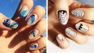 Naklejki wodne / tatuaże na paznokcie także na Halloween ♡ Red Lipstick Monster ♡