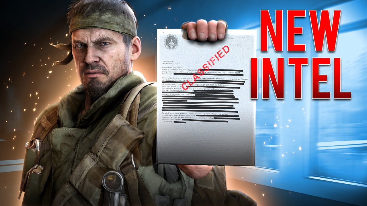 Secret Black Ops Cold War Frank Woods Mission Is Live Warzone Week 6 Old Wounds Intel Locations Youtube