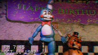 [Фнаф] іграшка Боні випробування показують стрічки 1987 - піцерії Фредді Fazbear (2)