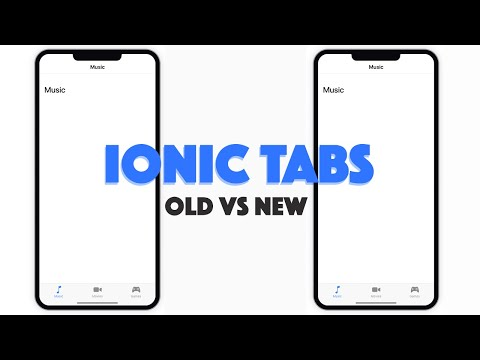 Migrating to the New Tabs Component in Ionic 4 - YouTube
