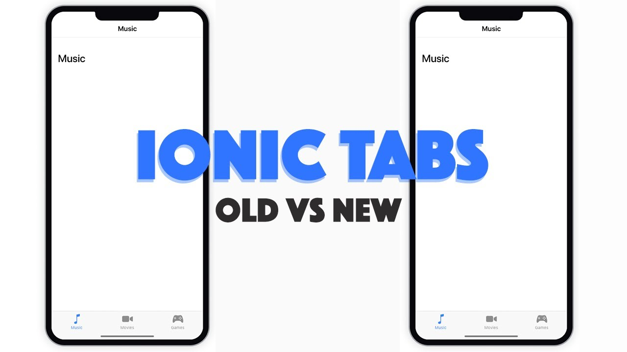 Migrating to the New Tabs Component in Ionic 4