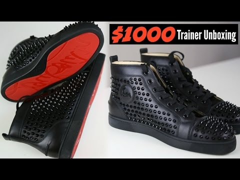 Christian Louboutin $1000 Dollar Trainers Unboxing - Mens Fashion 2018