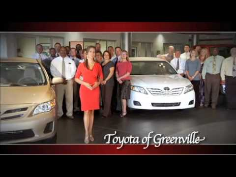 Toyota Of Greenville Sc >> Kimberly Kelly For Toyota Of Greenville Youtube