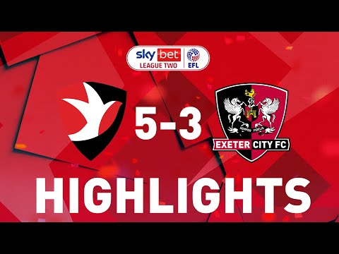 Cheltenham Exeter City Goals And Highlights