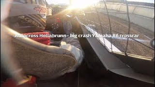 Big crash in Kartcross! Hollabrunn 19-20.10