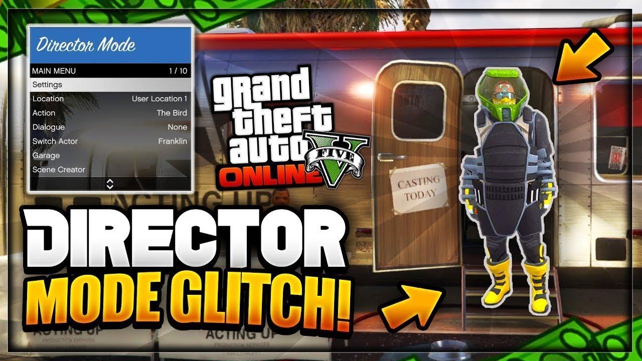 gta v online director mode glitch