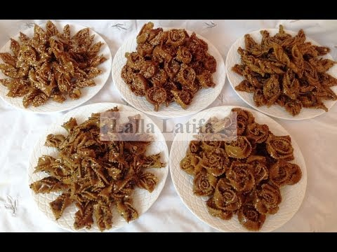 chabakia aux amandes et aux sésames