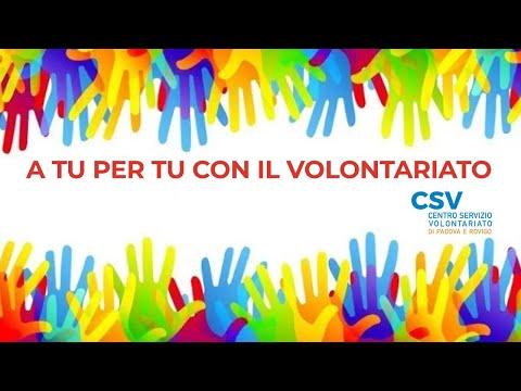 01 - A TU PER TU CON IL VOLONTARIATO<br><br>Puntat...