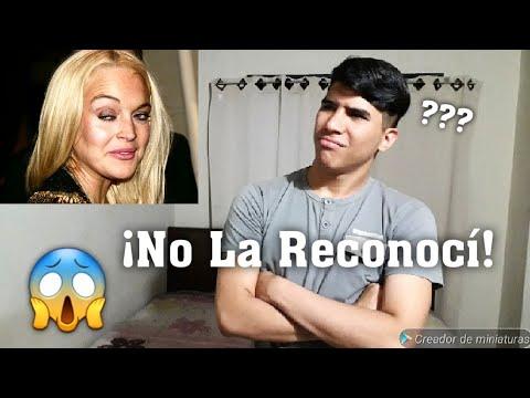 Mi Reacción al Ver a Lindsay Lohan 😱 /Robertototox