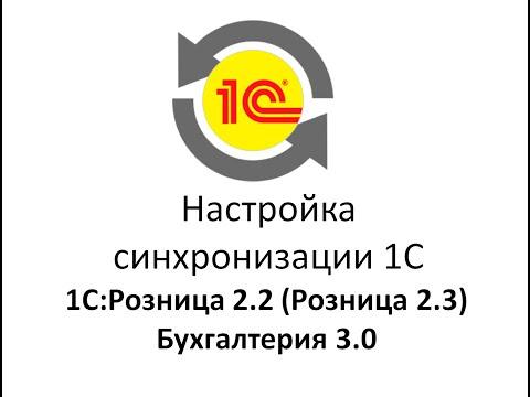 Синхронизация (перенос/обмен) данных с программами 1с Розница 2.2(2.3)  и бухгалтерии 3.0