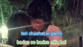 jab jab teri surat Karaoke only for male singers by Rajesh Gupta