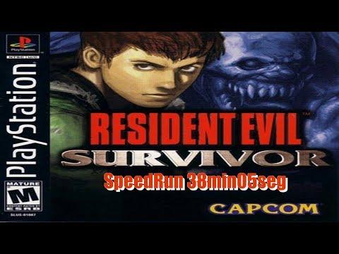 Resident Evil Gun Survivor Any% Easy 38min05seg IGT new PB
