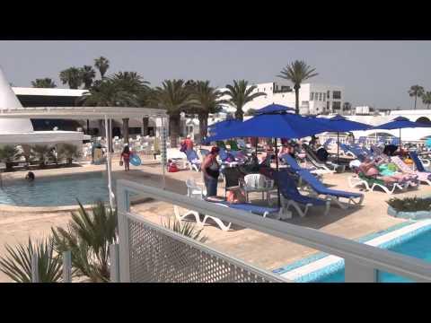 Hotel Samira Club Hammamet - Rundgang - Walk arround - Mai 2015