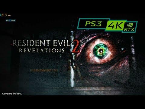 RESIDENT EVIL REVELATIONS 2 / 4K PS3 Emulator RPCS3 / RTX 2080ti