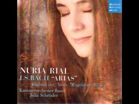 J.S. BACH - Arias - Mit zarten und vergnügten Trieben