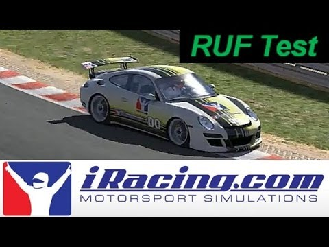 IRacing Neil's RUF test