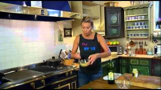 Едим дома С Юлией Высоцкой Выпуск Салат с раковыми шейками картофелем и оливками