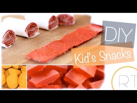 DIY SNACKS FOR KIDS