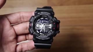 Casio G-shock GA-400-1B Black edition