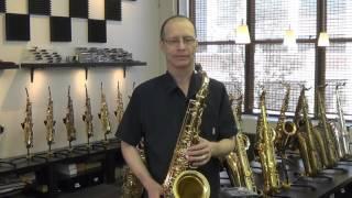 Yanagisawa TW01 tenor sax