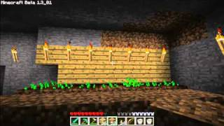 Minecraft Tutorials - 30 - How to Survive & Thrive (Underground Wheat & Sugarcane Farms)