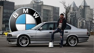 САМАЯ ЖИВАЯ BMW E34 1995г - ОБЗОР ТЕСТ-ДРАЙВ #BMW #E34 #M5