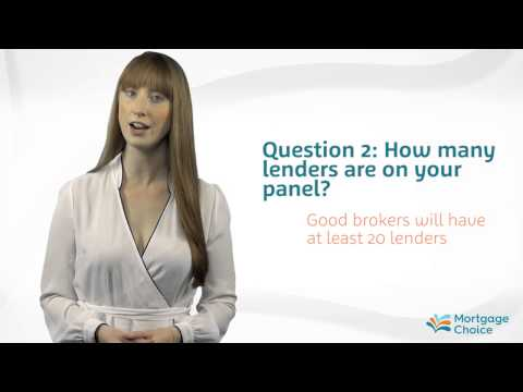 Mortgage Choice - What does a mortgage broker do?