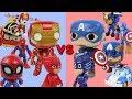Ironman VS captain America! The great battle!  Who will win in war? rollytoy #battle #ironman #war
