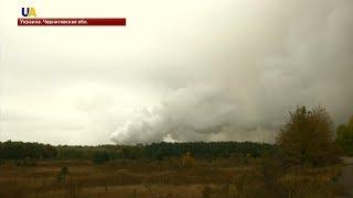 Интенсивность взрывов на военном складе в Ичнянском районе уменьшилась до 1 в минуту.