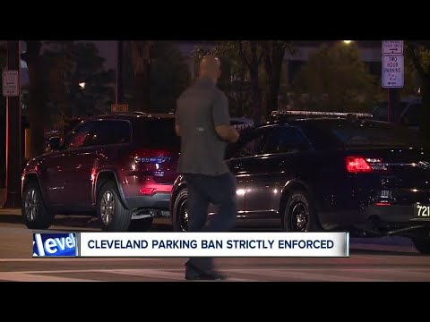 Dozens of cars ticketed and towed during Cleveland's Labor Day weekend parking ban