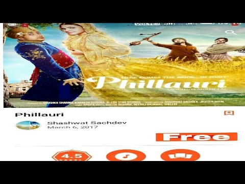 How to download Phillauri full movie in HD