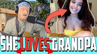 Grandpa surprises GIRLS on Omegle with his secret talent...