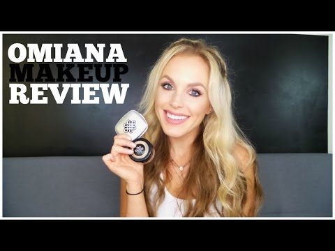 I'm Allergic To MAKEUP | Possible Solution! Omiana Makeup Review