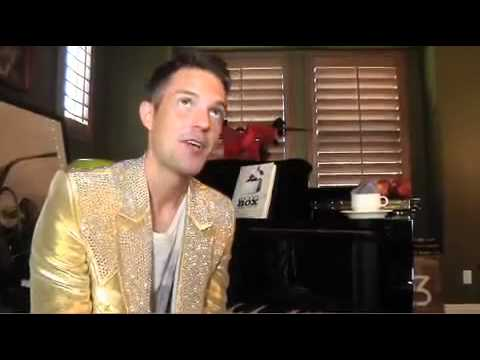 At Home with Brandon Flowers - Spin Magazine