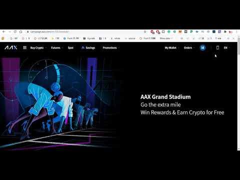 1000$ AAX Exchange USDT Webounty Giveaway | Crypto Free Airdrop
