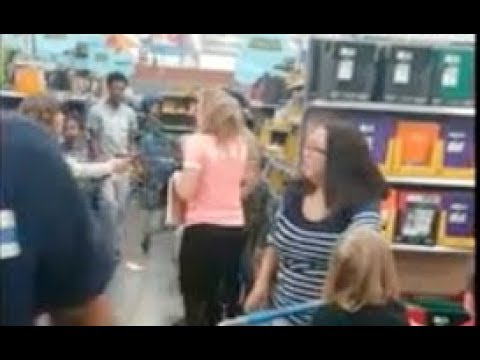 Woman Pulls Gun During Fight At Walmart