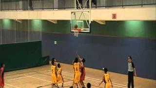 2010-2011年度新界葵涌小學校際籃球比賽 男子組決賽