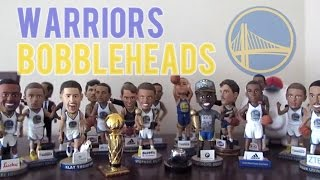 warriors bobblehead collection