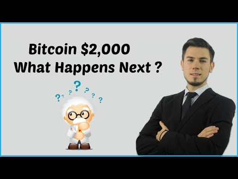 Bitcoin $2,000 What Happens Next ?