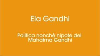 Intervento di Ela Gandhi in occasione del Dipavali 2020 dell'Unione Induista Italiana