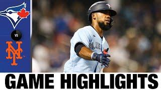 Blue Jays vs. Mets Game Highlights (7/24/21) | MLB Highlights