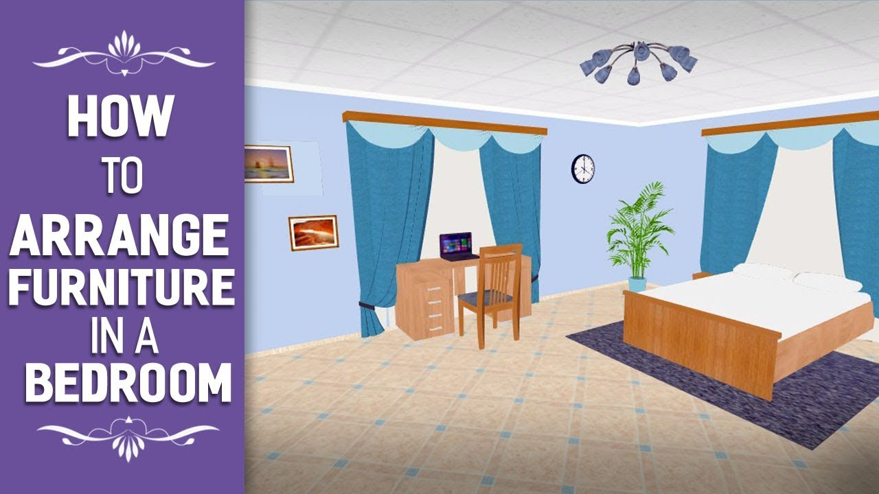 How to Arrange Furniture in a Bedroom - Easy & Exciting 3D Room Design