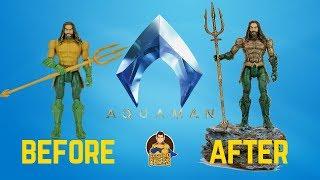 Mattel Aquaman Figure Makeover- Chris' Custom Collectables!
