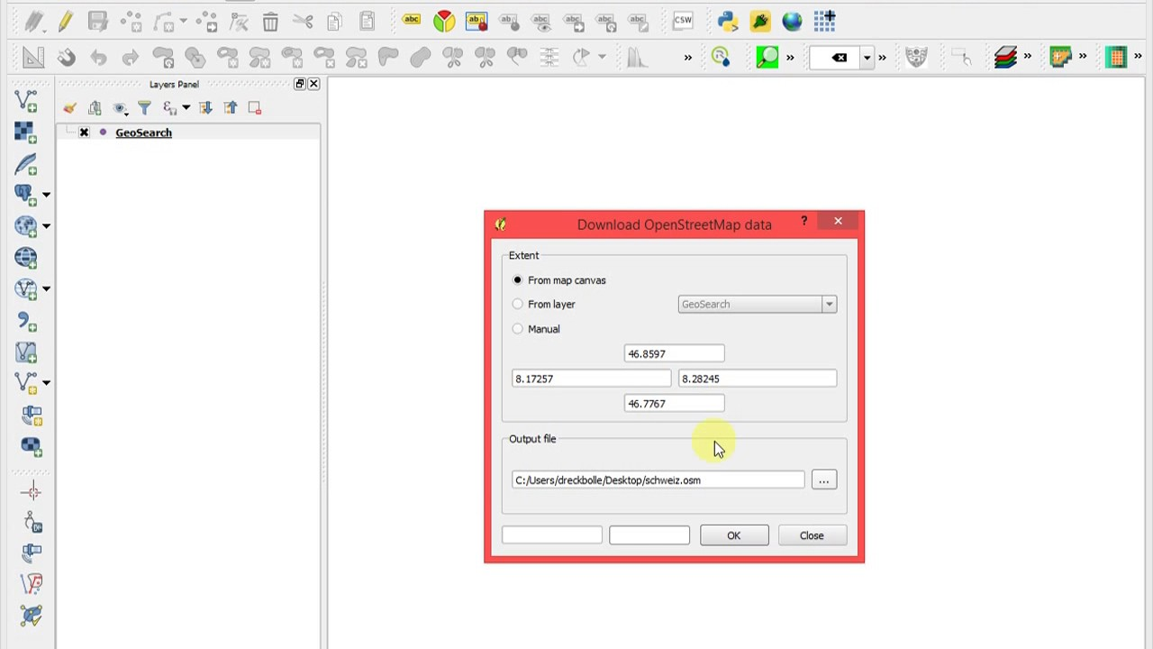 Using QGIS to Download Open Street Map (OSM) Data and identify shops
