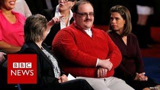 US Election: Ken Bone's message of hope - BBC News