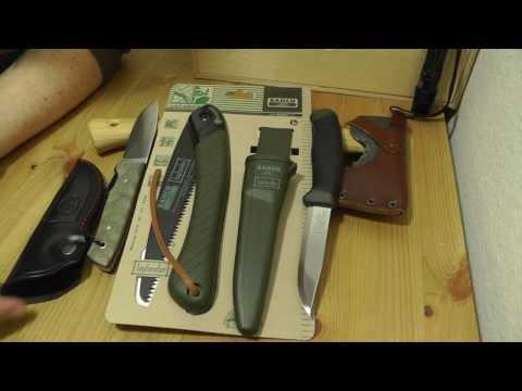 Bahco Laplander & Mora   Low Budget Outdoor Werkzeug Gear